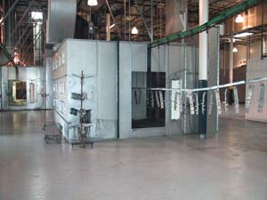 Powder Coating Assembly Line
